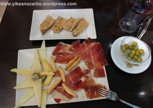 Assorted Cheese and Iberian Ham Platter